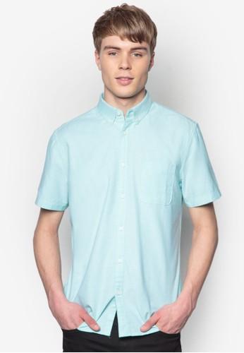 短袖牛esprit 台北津襯衫, 服飾, 素色襯衫