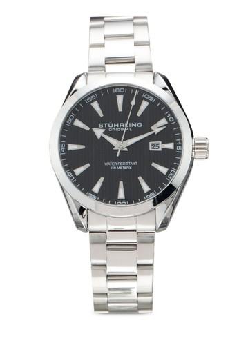 Stuhrling Original silver Forte 3953 Watch C07BFAC7CD039CGS_1