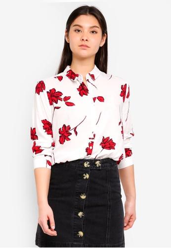 Cotton On red Rebecca Shirt FB0B7AAB337DC3GS_1