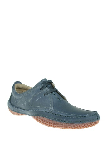 Hush Puppies navy Percy Men's Casual Shoes F86D6SH330CF19GS_1
