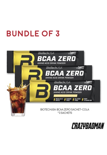 BioTechUSA [Bundle of 3] BCAA Zero 9g - Cola EE87CESA1CBB31GS_1