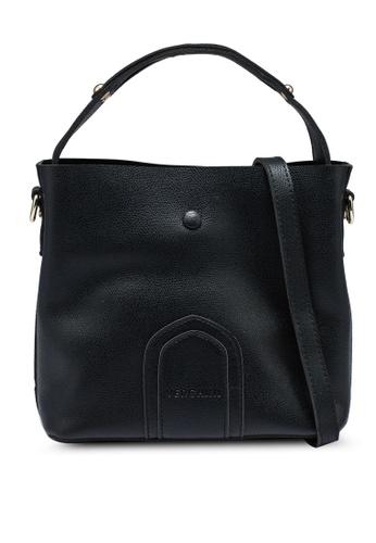 Verchini black Top Handle Casual Bag 924E7ACF1B9031GS_1