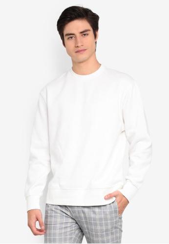 Topman 白色 白色 棉T 9DE6CAA951BD71GS_1