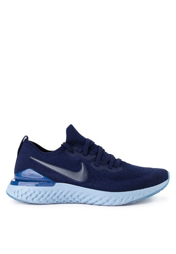 Nike blue Nike Epic React Flyknit 2 Shoes 09722SH9DF8A46GS_1