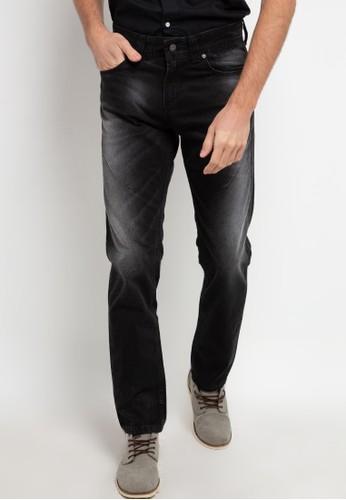 Lois Jeans black Slim Long Pants Denim CFL390L EEF21AA55DEF92GS_1