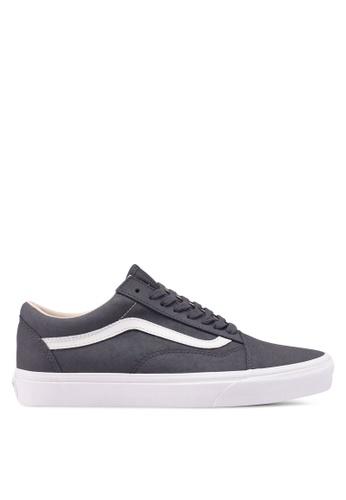 VANS grey Old Skool Vansbuck Sneakers 2FB2ASH9E9F840GS_1
