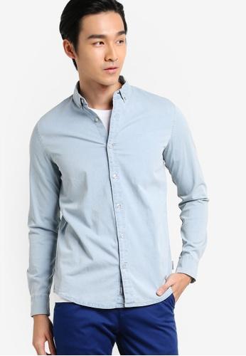 Calvin Klein blue Wilshner Shirt - Calvin Klein Jeans CA221AA07XTGMY_1