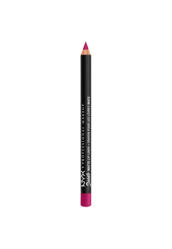 NYX Professional Makeup purple NYX Professional Makeup Suede Matte Lip Liner - SMLL 59 - SWEET TOOTH E32EABE0EEF9EAGS_1