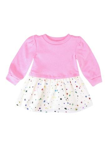 GAP pink Cozy Dress 596DAKA3CFCD06GS_1