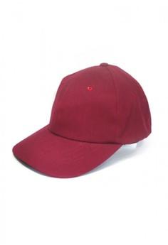Plain Maroon Baseball Cap