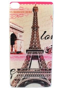 Huawei Ascend P8 Paris Eiffel Tower Design TPU Case