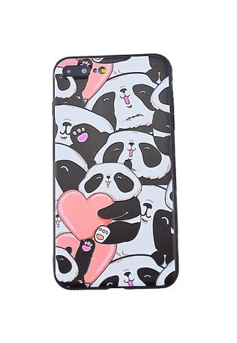 quality design 7e502 0500b Panda Soft Case for iPhone 7+/8+