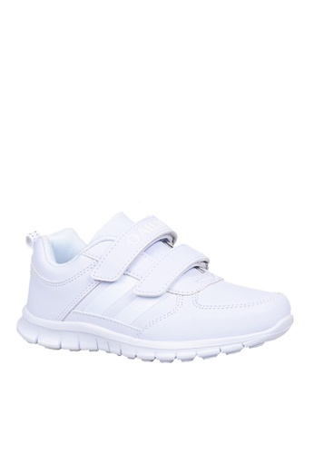 Twenty Eight Shoes 白色 VANSA 舒適真皮運動鞋   VSK-T213 F81CDKS25B92B3GS_1