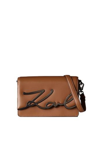 KARL LAGERFELD brown K/Signature Shoulderbag 6D20CACE547E09GS_1