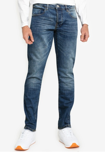OVS blue Skinny-Fit Stretch Jeans 04294AAC29269CGS_1