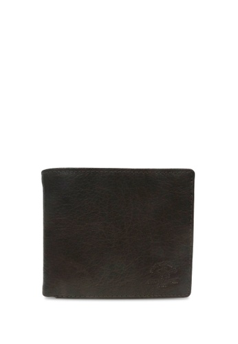 Santa Barbara Polo & Racquet Club brown Santa Barbara Polo & Racquet Club Leather Bifold Wallet 63DD1ACBB7239EGS_1