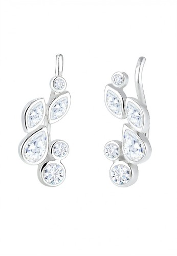 Elli Germany silver 925 Sterling Silver Anting Swarovski Crystal Silver 35665AC5336927GS_1