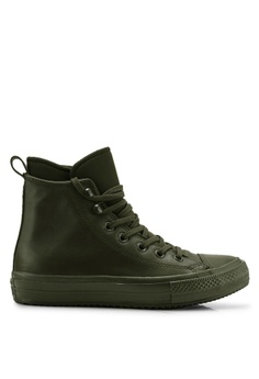 731d0d7821 Converse green Chuck Taylor Waterproof Boot Street Warmer Hi Sneakers  54F71SH8086F24GS_1