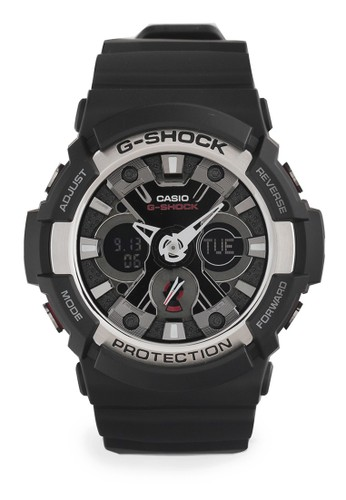 G-shock black G-shock Men Analog GA-200-1ADR Black 2DD99ACA16E88BGS_1