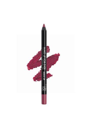 MAKE UP FOR EVER pink AQUA LIP - Waterproof Lip Liner Pencil 1,2G 10C 358A8BE3A99DF6GS_1
