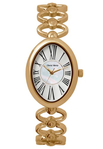 Christ Verra gold Fashion Women's Watches CV 31738L-15 MOP WHT B7F99ACBCEDC22GS_1