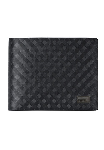 Picard black Picard Checker Men's Leather Wallet with Card Window 9439AAC619C51FGS_1