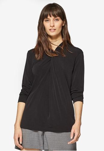ESPRIT black Long Sleeve Top 8FA40AA27B7EF9GS_1
