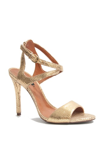 Covet gold Arezzo Queen Ankle Strap Heels CO331SH43EMMPH_1