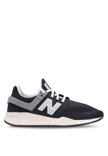 New Balance black 247 Lifestyle Core Heritage Shoes 99821SH67BB94CGS_1
