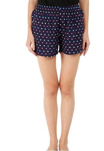 BarBar navy Amber Women Short Pants BXRGRLS-07704-A EC008AA5FC7121GS_1