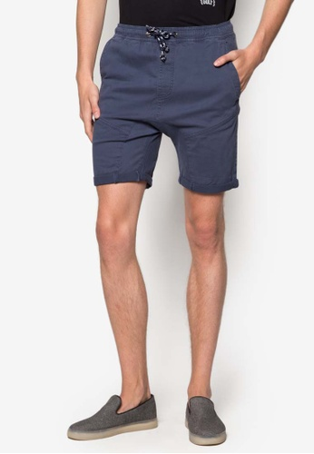 Factorie purple Nash Panelled Shorts FA880AA96TMTMY_1