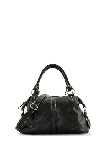 SEMBONIA black SEMBONIA Synthetic Leather Tote Bag (Black) AB2EBACEF3EEFFGS_1