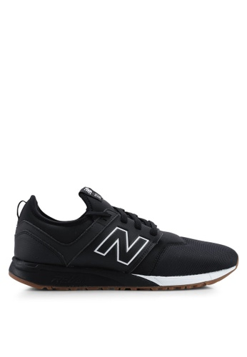 New Balance black 247 Lifestyle Sneakers A70E5SH7F6074EGS_1