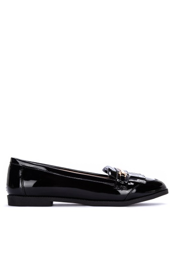 Dune London black Goldiee Loafers 45961SHB66D1E7GS_1