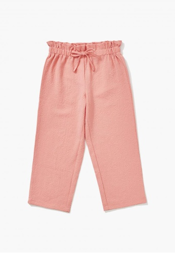 FOREVER 21 pink Paperbag Pants D5BB1KA5FAF89AGS_1
