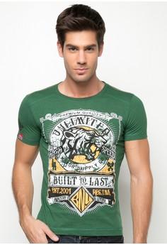 Unltd Round Neck Shirts W/ Print