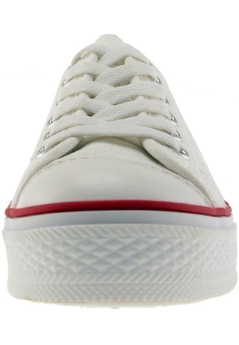 Maxstar Maxstar Women's C1 6 Holes Canvas Low Top Casual Sneakers US Women Size MA164SH34PWVSG_1