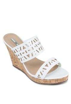 Perforated Slide On Wedges