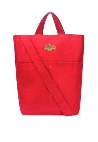 Ripples red Faith Canvas Sling Bag 1319AAC489E2B6GS_1