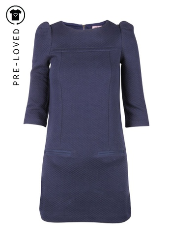 Juicy Couture blue Pre-Loved juicy couture Navy Shift Dress 23420AA598B96CGS_1