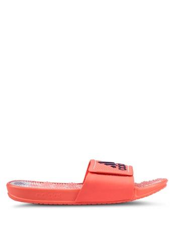 adidas orange adidas adissage 2.0 logo AD372SH0RS6KMY_1