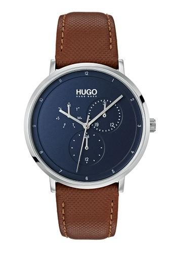 Hugo Boss blue HUGO Guide Blue Men's Watch (1530032) 651B7ACB33C676GS_1