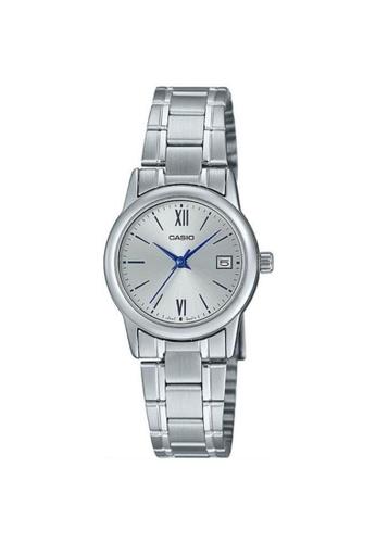 Casio silver CASIO GENERAL LTP-V002D-7B3UDF WOMEN'S WATCH C627CAC3A164E0GS_1