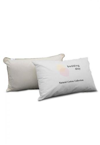 Bedding Day Bedding Day - Natural Cotton Pillow D90E5HLF7FC6C0GS_1