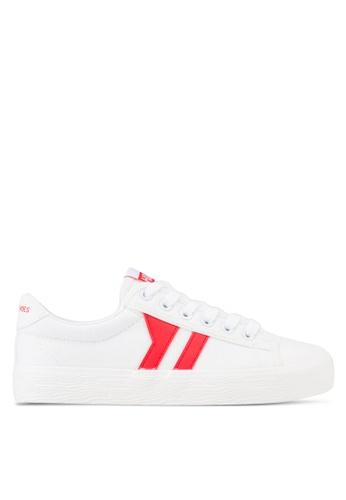 Twenty Eight Shoes white Gentle Platform Sneakers TW281SH47LUAMY_1