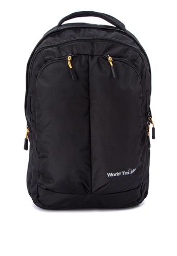 World Traveller black Los Angeles Backpacks WO744AC0K4CEPH_1