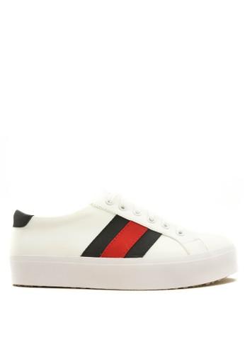 CDE white Cruise Men Sneaker - White/Black 52F6ESH489D9D0GS_1