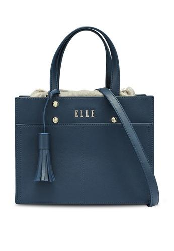 Elle navy Joanna Carry Bag 98537AC17F5FBDGS_1