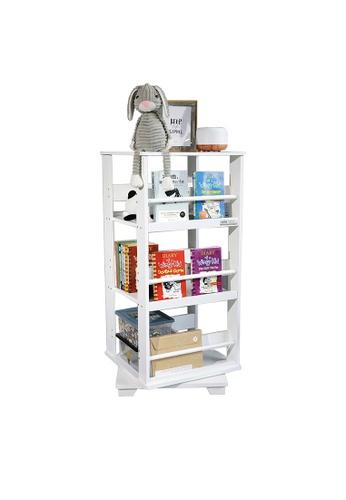HOUZE white HOUZE - TOCAR Swing Bookshelf - White 2EA1DHL5AA9F69GS_1