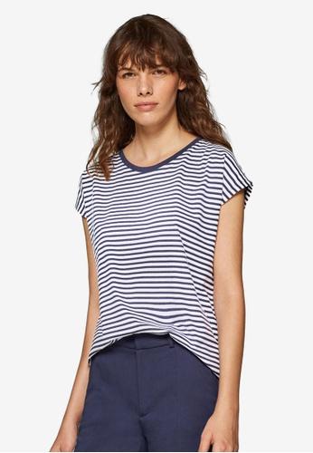 ESPRIT navy Short Sleeve T-Shirt C20D9AA5AA6D80GS_1